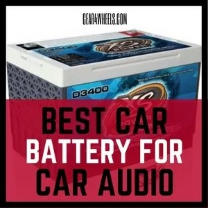 Best car battery for car audio