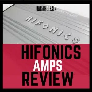 Hifonics amps Review