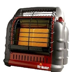 Natural garage heater