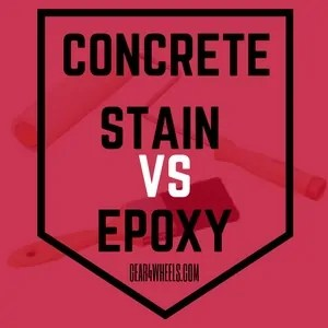 Concrete stain vs Epoxy