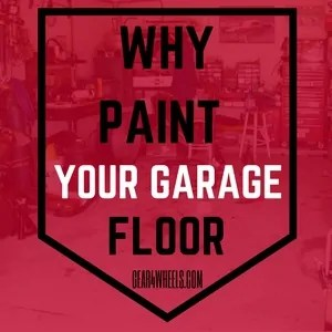 Why to paint your garage floor
