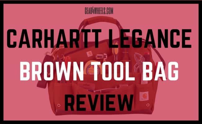 carhartt legacy brown tool bag review
