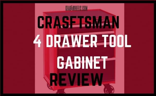 crasftsman 4 drawer Tool gabinet review