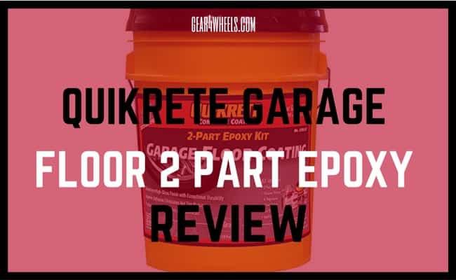 Quikrete garage floor 2 part epoxy review