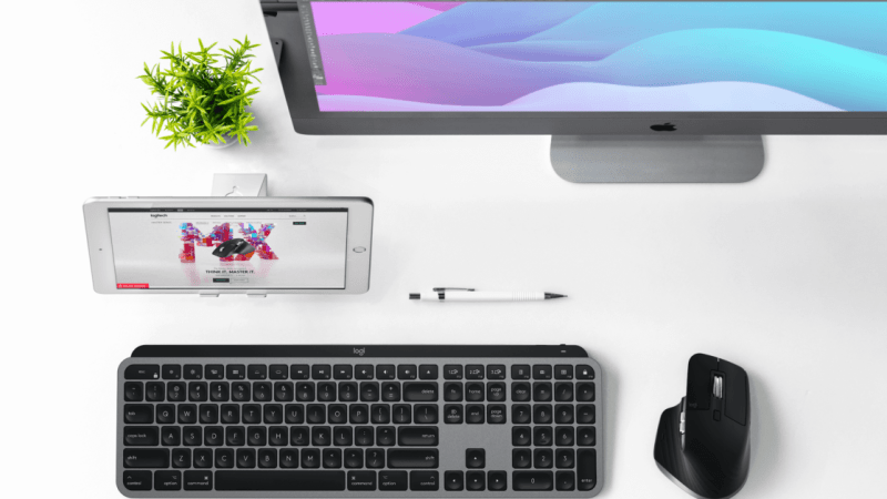 Logitech helps you master your productivity and workflow