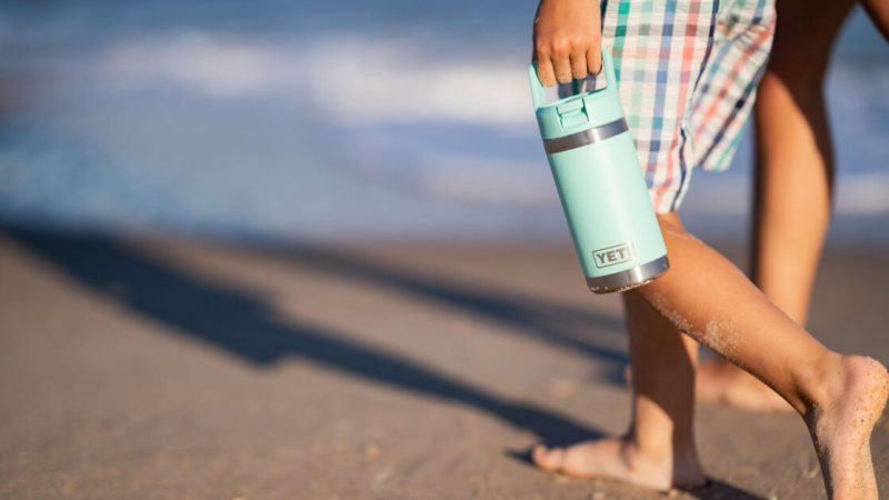 Durable Hydration at its finest for your little one — meet the Yeti Rambler Jr. 12oz Kids Bottle