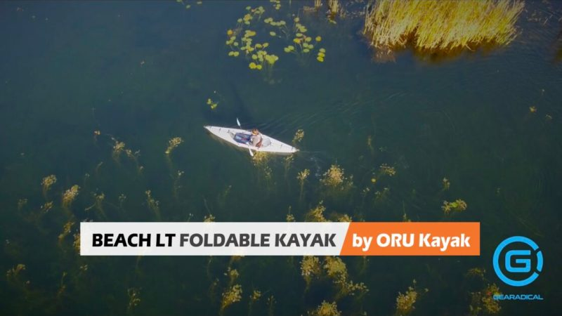This foldable kayak fits in the trunk of your car