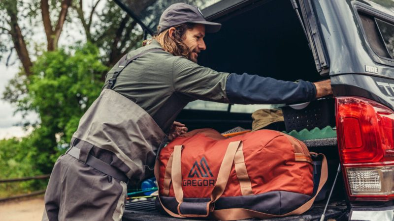 The Gregory Supply Duffel doesn't get lost in the shuffle