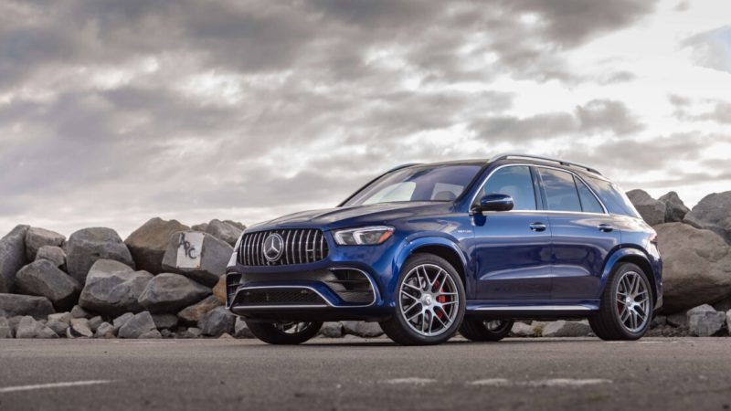 Behold the lush full-width dashboard on the AMG GLE 63 S Coupe