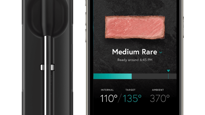 The Yummly Smart Thermometer is a surprisingly great addition to my kitchen