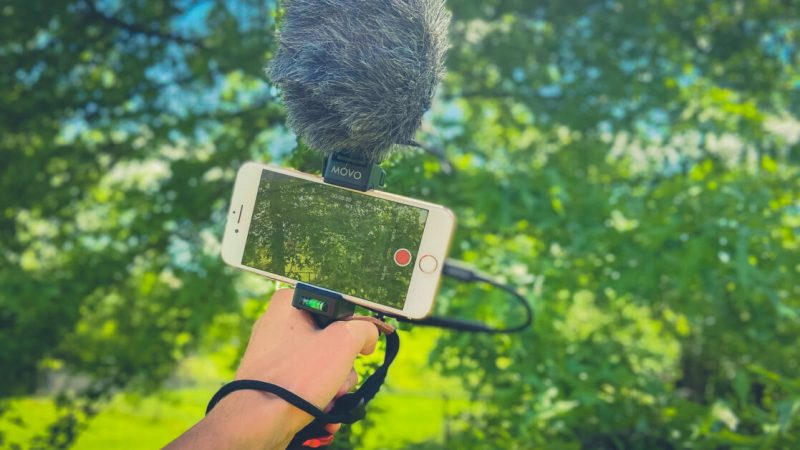 The perfect mobile video kit for vlogs, podcasts, and more!