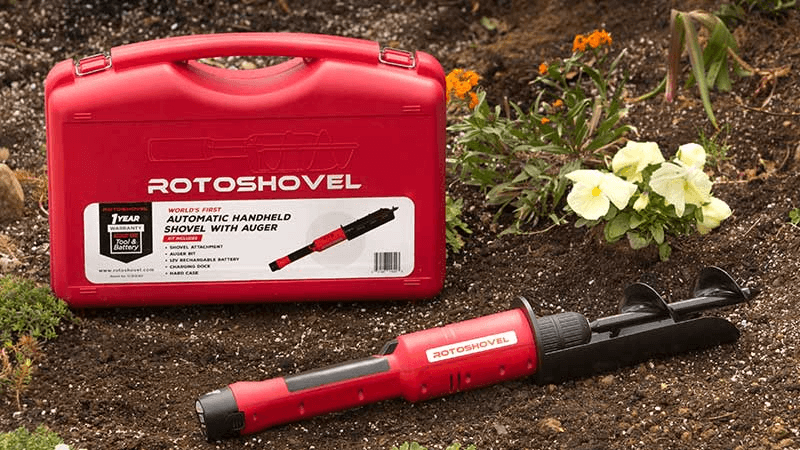 The RotoShovel takes the work out of gardening