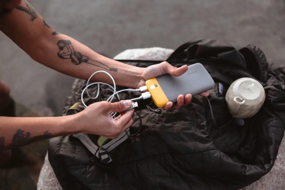 A multitasker's lifesaver… the BioLite Portable Charger