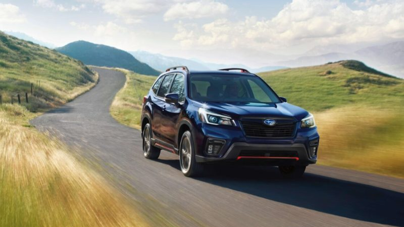 It's all downhill from here with hill descent control in the 2021 Subaru Forester Sport