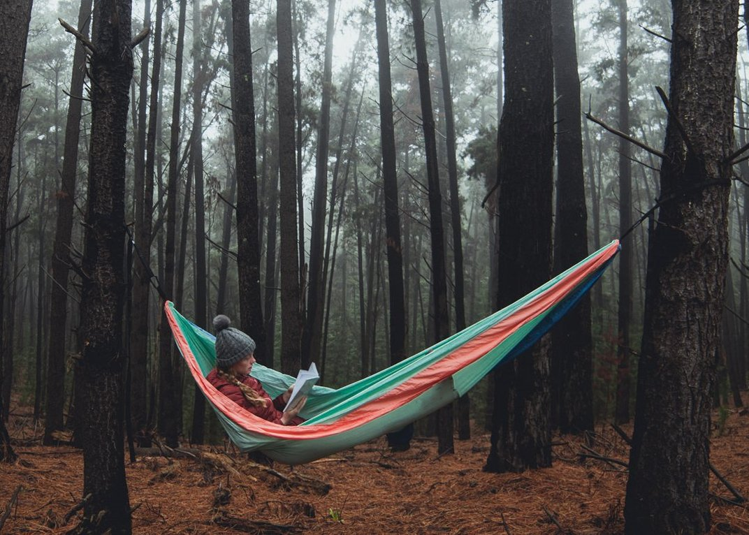 Sustainable hammocks by Nakie don't just hang on trees; they plant them