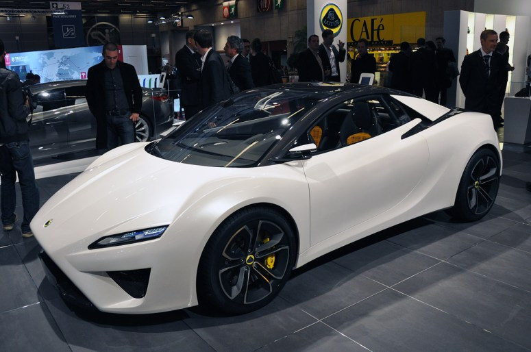 Lotus Reveals Five New Concept Cars In Paris 2