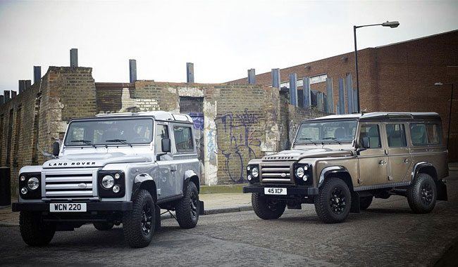 Land Rover Defender X-Tech Editions 2