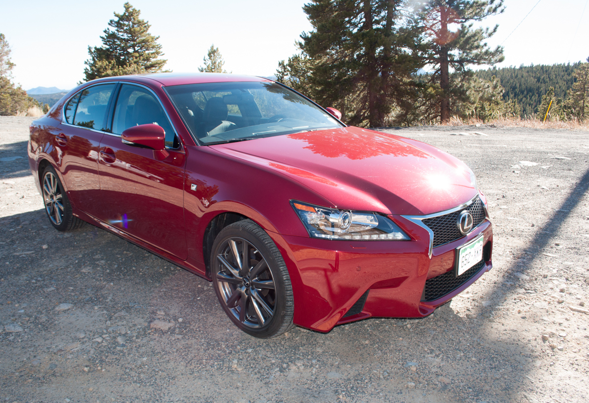2013 Lexus GS 350 F-Sport Review -- Review 8