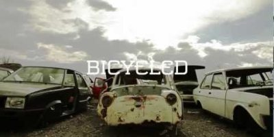 Bicycled -- A Bike Made Out of Cars 5