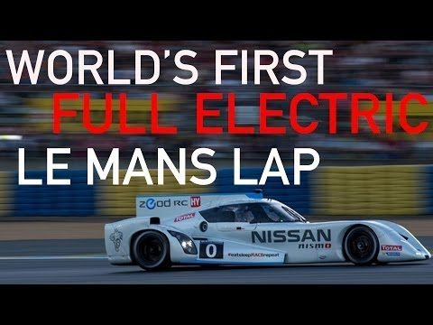 The First All-Electric Lap At Le Mans 18
