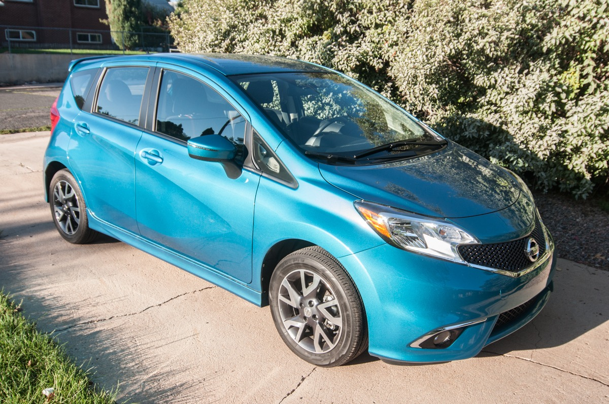 2015 Nissan Versa Note SR — Review 16