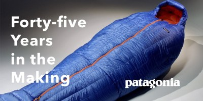 Patagonia Finally Launches a Sleeping Bag