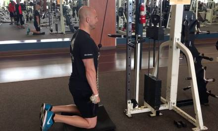 Why You Should Do Rope Tricep Pushdowns Kneeling