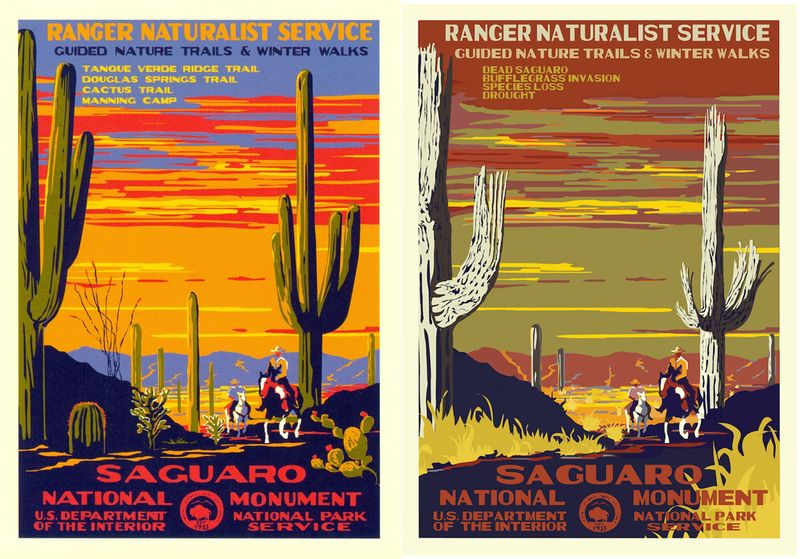 Post-Apocalyptic National Park Posters