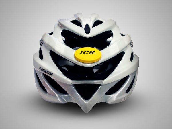Icedot cycling head injuries