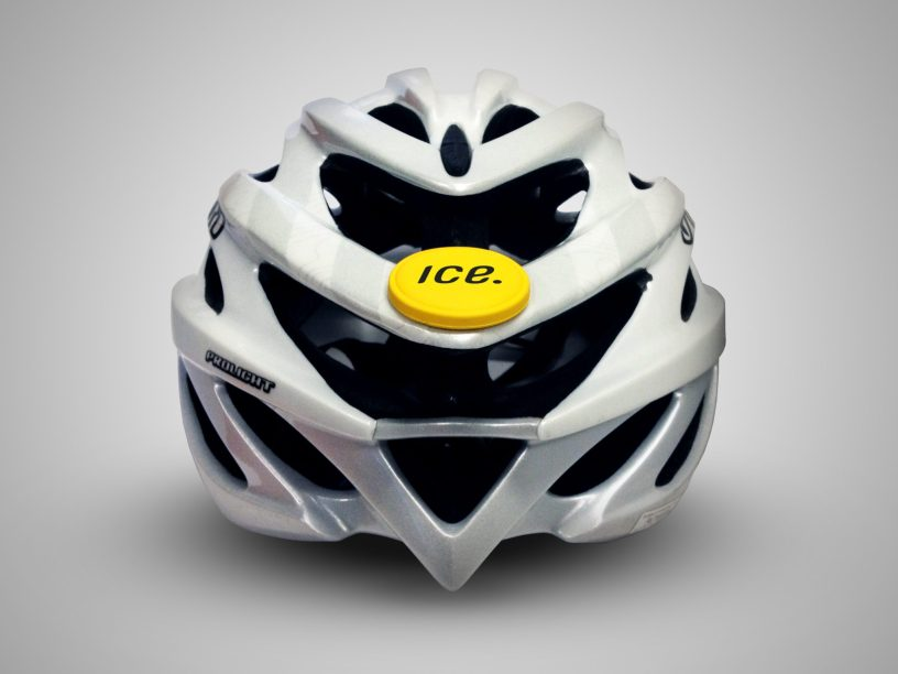 Icedot cycling head injuries