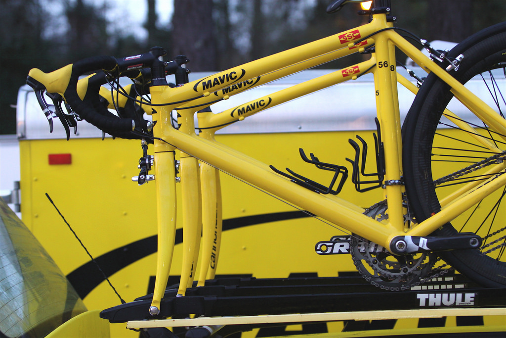 Mavic Neutral Support Bike - The Bike Tour Riders Don't Want to Ride 10