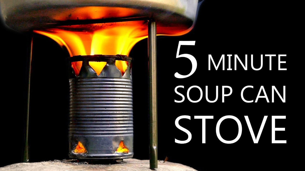 How to Build a Camp Stove Out of a Recycled Soup Can 18
