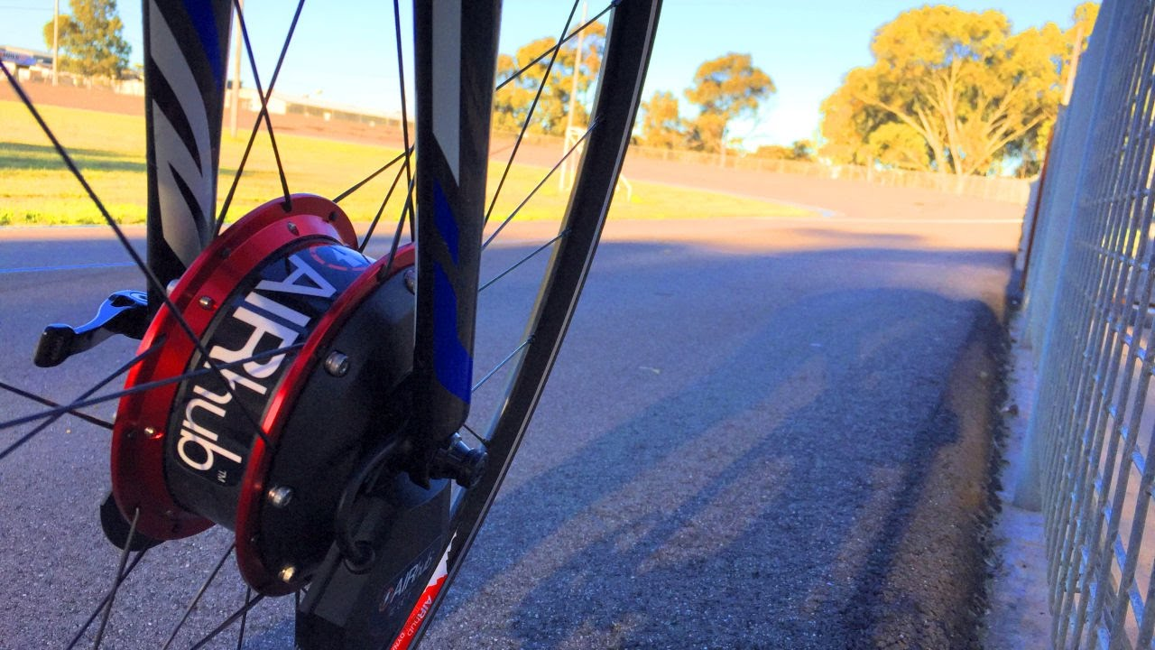 AIRHub - A Bike Wheel That Makes You Slower, Really 3