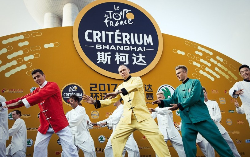 The Shanghai Criterium was a Great Reminder that Off-Season Cycling is Really Weird