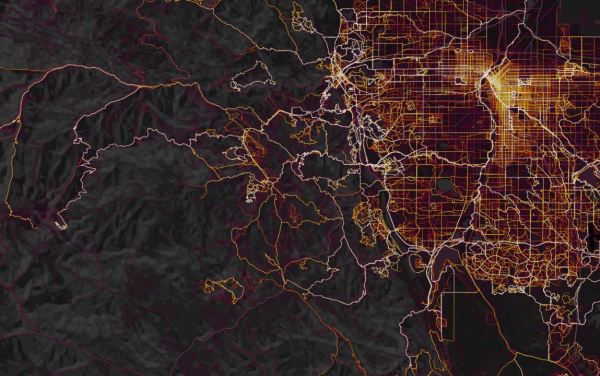 Strava Global Heatmap 27