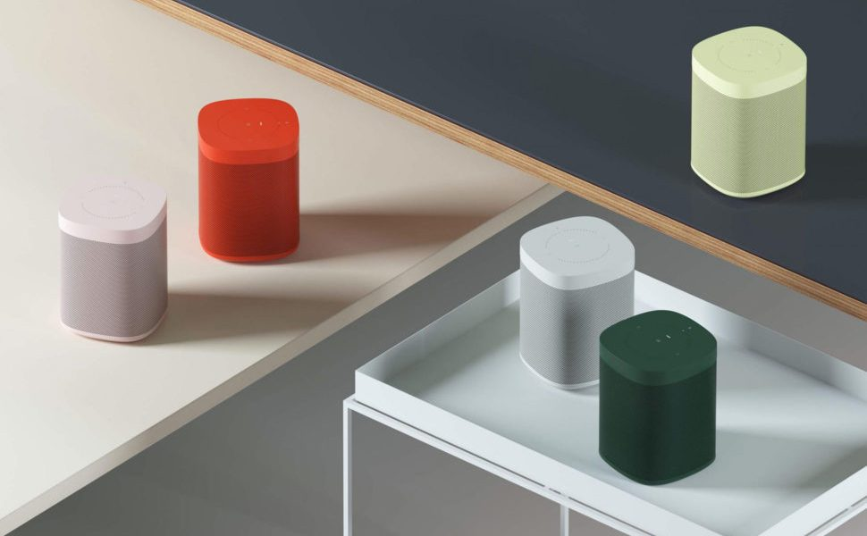 Sonos is Adding Some Color to its Sonos One Speaker 1