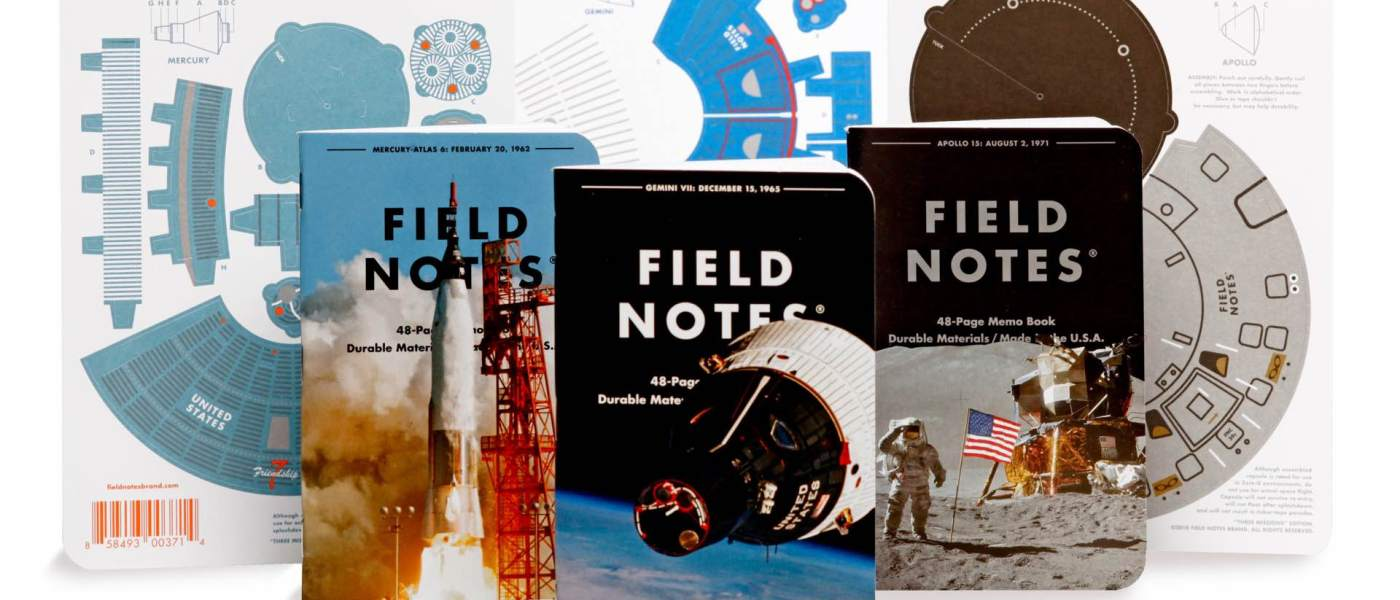 """Field Notes """"Three Missions"""" Edition 1"""