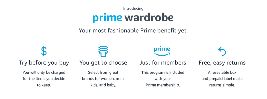 Amazon's Clothing Try-out Service is Available All Prime Subscribers Now 2