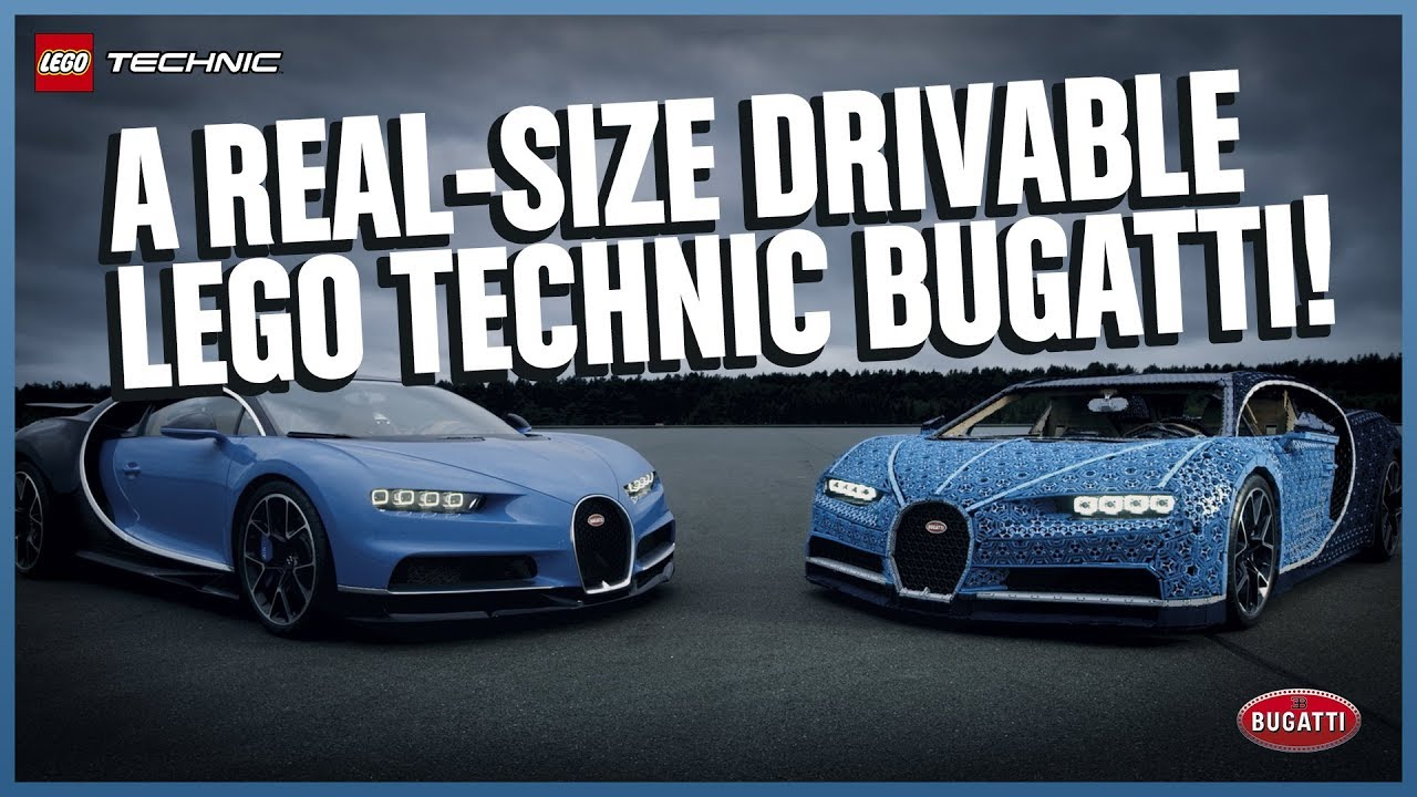 A Full-scale Lego Bugatti Chiron that Actually Drives 1