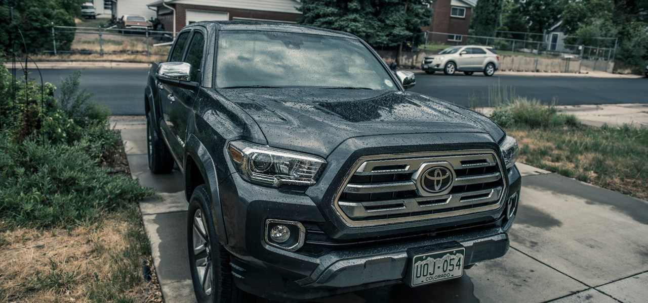 2018 Toyota Tacoma Limited Double Cab Review 1