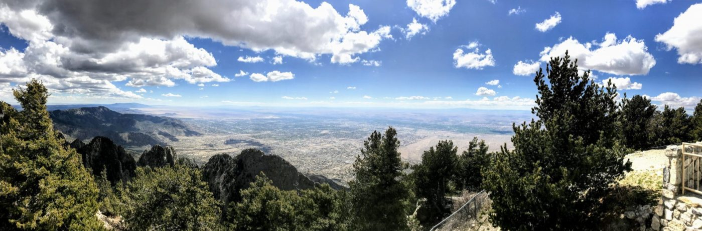 Cycling the Sandia Crest 3