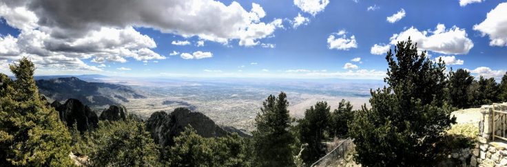 Cycling the Sandia Crest 6
