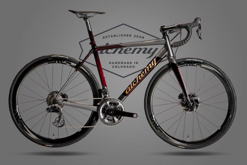 Alchemy Celebrates 10 Years with a Very Special Helios Road Bike