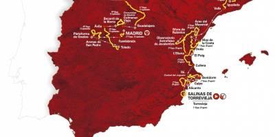 2019 Vuelta a España Route Includes 59 Categorized Climbs