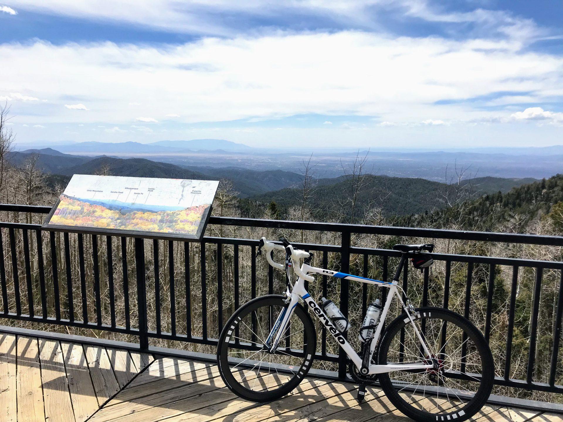 Cycling to the Santa Fe Ski Basin 9