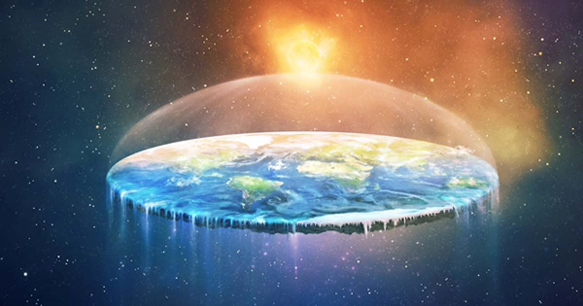 Proving the Earth Is Round by Bicycling 12
