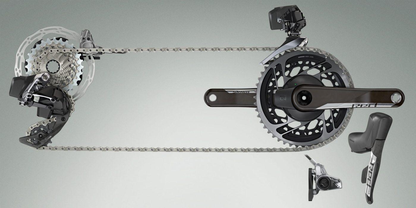 SRAM Launches RED eTap AXS 12-speed Wireless Road Bike Groupset 3