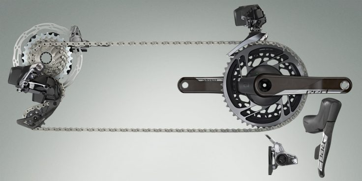 SRAM Launches RED eTap AXS 12-speed Wireless Road Bike Groupset 10