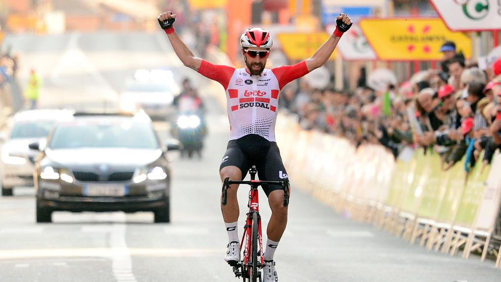 Thomas De Gendt's Stunning Solo Victory on Volta a Catalunya 2019 Stage One 9