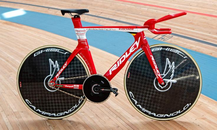 Victor Campenaerts Sets Hour Record on Custom Ridley 9
